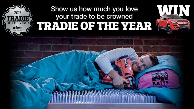 Tradie of the Year is back!