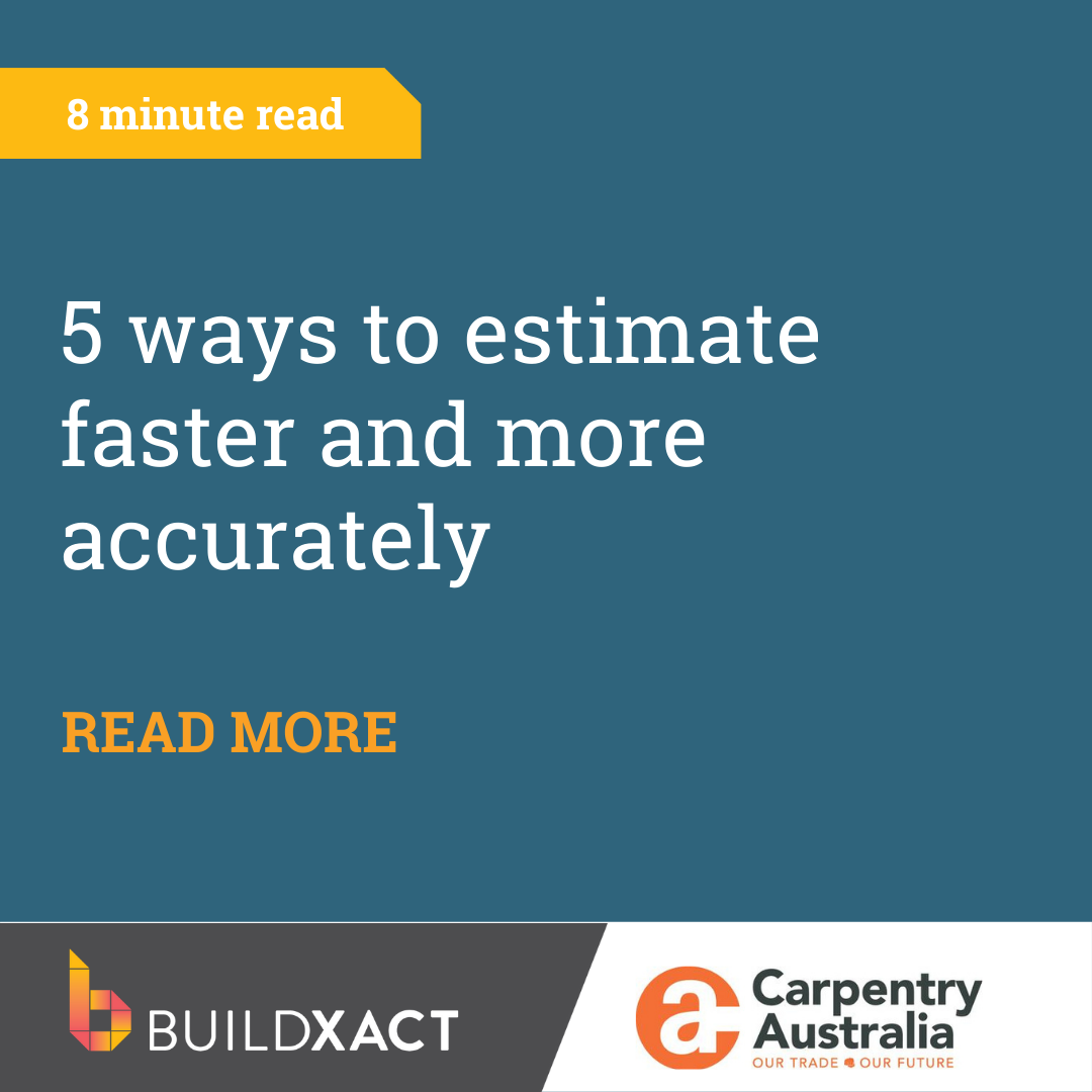 5 ways to estimate faster and more accurately
