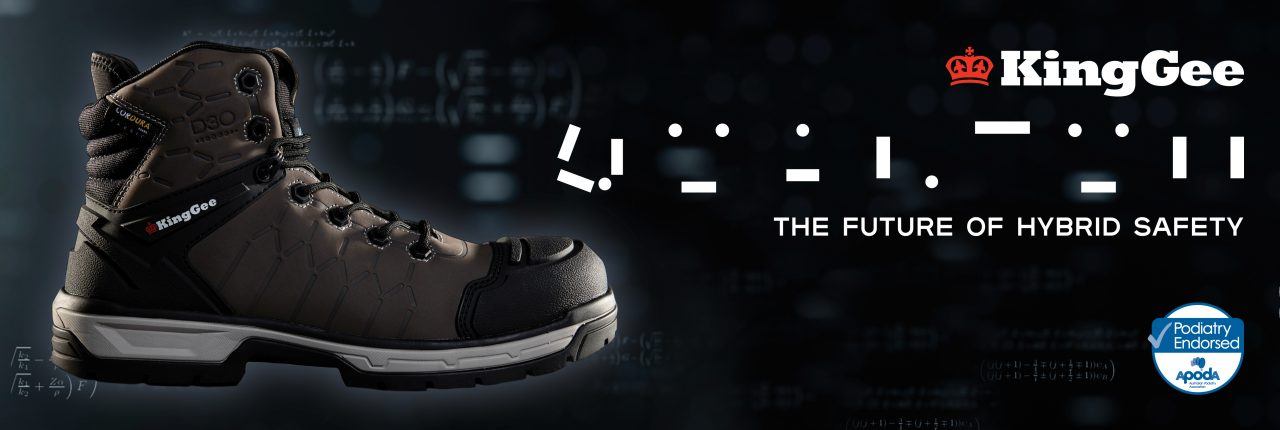 KINGGEE INTRODUCES QUANTUM: A WORLD FIRST IN WORK BOOTS