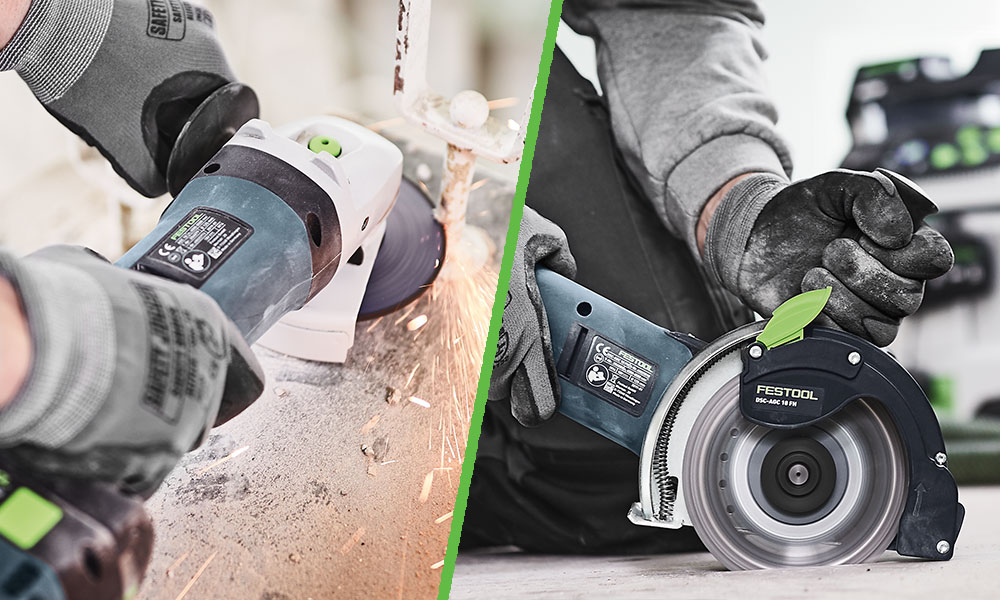 Work faster & safer with new Festool cordless tools