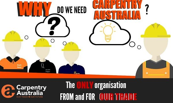 Why do we need Carpentry Australia?